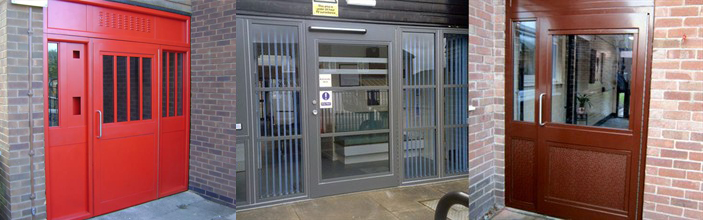 sps communal doors